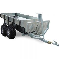 ATV TIMBER TRAILER WITH BOX