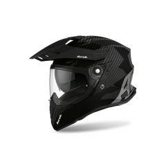 Airoh Helmet Commander Carbon full carbon gloss