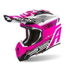 Airoh Helmet Aviator 2.3 AMS2 Novak pink chrome