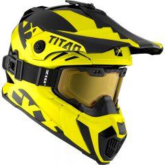 CKX Helmet + Goggles TITAN Airflow Extra Yellow