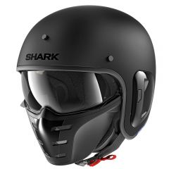 Shark S-Drak 2 helmet, matt black