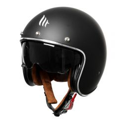 MT Le Mans 2 SV openface helmet, flat black