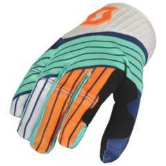 Scott  Glove 450 Podium blue/orange
