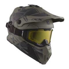 CKX Helmet + Goggles TITAN Climb Matt grey