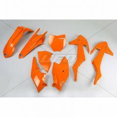 UFO Plastic kit 5-parts Orange 127 KTM SX/SXF125-525 16-18