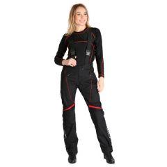 Sweep Textilepants Talya WP Lady, black/red