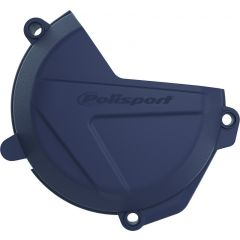Polisport clutch cover prot. FC250/350 16-17, FE250/350 17 blue