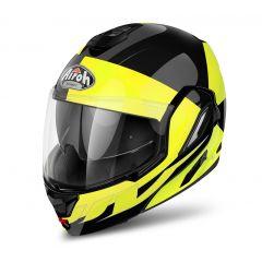Airoh Helmet Rev Fusion yellow gloss