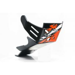 AXP Xtrem HDPE Skid Plate Black KTM/Husqvarna 4-T 16-18 AX1419