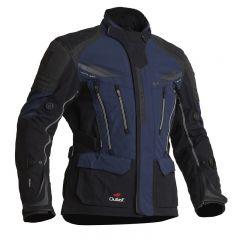 Halvarssons Textile Jacket Mora Black/blue