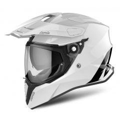 Airoh Helmet Commander Color white gloss