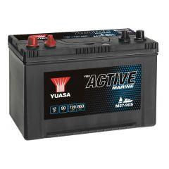 Yuasa M27-90S Active Marine Start Battery 12V 90Ah 720A Note: Pallet cargo