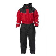 SnowPeople Safari overall red/black