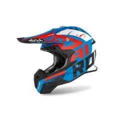 Airoh Helmet TERMINATOR OP.V Hanger Azure Matt
