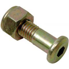 *TALON bolt M10x30 insex Drevbult m mutter XR600. (6-pack)