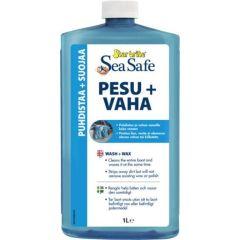 Sea Safe Wash&Wax Pesu&Vaha 1L