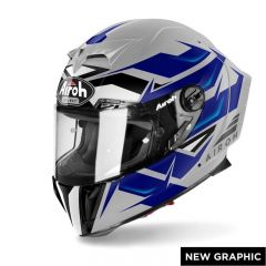 Airoh Helmet GP550 S Wander blue gloss