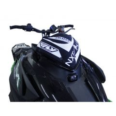 Skinz Next Level Windshield Pak Black/White 2012- Arctic Cat ProClimb/ProCross/F
