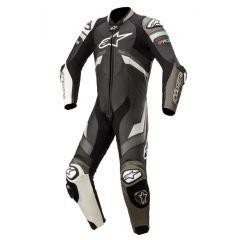 Alpinestars Leather suit 1-pcs GP Plus v3 Black/White/Metallic