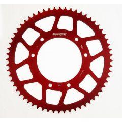 Supersprox Rear sprocket, 60, Ø105mm, Red, Derbi / Aprilia / Yamaha RAL-1131 z60 Red