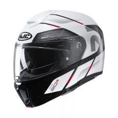 HJC Helmet RPHA 90 Bekavo White black MC1 MC1