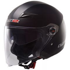 LS2 helmet OF569 TRACK SINGLE MONO matt black