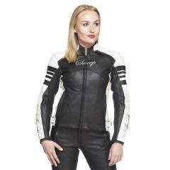 Sweep Leatherjacket Pinky Lady, black/white