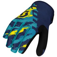 SCOTT Glove 350 Fury blue/yellow
