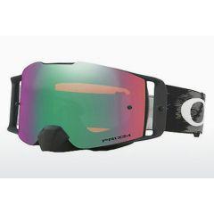 Oakley Goggles Front Line SX Matte Black Speed w/ Dual Prizm Jade