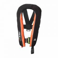 Baltic Winner 165 harness auto inflatable lifejacket black/orange 40-150kg