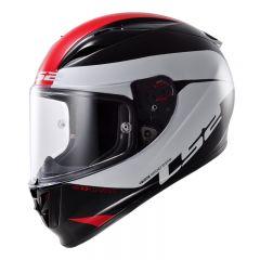 LS2 helmet FF323 R COMET black white red