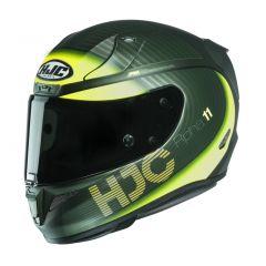 HJC Helmet RPHA 11 BINE Green Yellow MC4HSF