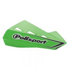 Polisport Qwest Handguards + Universal Plastic Mounting Kit Green 05