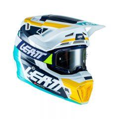 Leatt Helmet Kit Moto 7.5 V21.2 Aqua