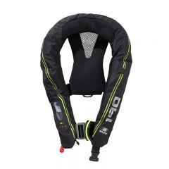 Baltic Legend 190 harness auto inflatable lifejacket black 40-120kg