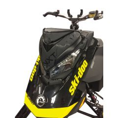 Skinz Next Level Windshield Pak Black Ski-doo 850 Rev 4