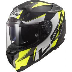 LS2 Helmet FF327 Challenger Squadron Matt Hi Vis Yell