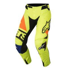 Alpinestars Pant Techstar Factory Fluo Yellow/Black/Blue/ Fluo Ora