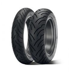 Dunlop AMERICAN ELITE NW 180/65B16 81H Multi-Tread TL Re.(Narrow White Sidewall)