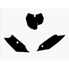 Blackbird Pre Cut Backgrounds black SX/SX-F 13-15