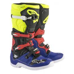 Alpinestars Boot Tech 5 Blue/Black/Fluo Red/Yellow