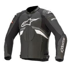 Alpinestars Leather Jacket GP Plus R v3 Black/White