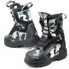Sweep Yeti snowmobile boots black/camo