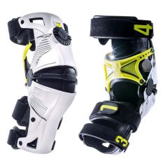 Mobius X8 knee brace white/yellow XS-2XS