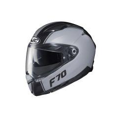 HJC Helmet F70 Mago Grey MC5SF