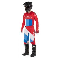 Alpinestars pants Techstar Venom, red/white/blue