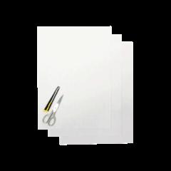 Blackbird Coloured sheet clear 47x33cm (3pcs)