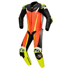Alpinestars Leathersuit GP TECH v3 TECH AIR Comp Red fluo/Black/Yellow fluo