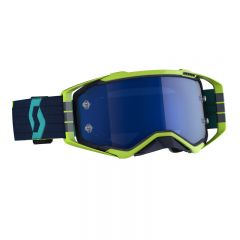 Scott Goggle MX Prospect blue/yellow electric blue chrome works