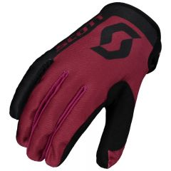 SCOTT Glove 350 Race black/maron